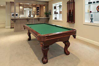 Skilled pool table installers in New Haven