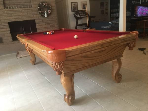 Pool Table For A Sale In New Haven SOLO Pool Table Movers New - Connelly catalina pool table