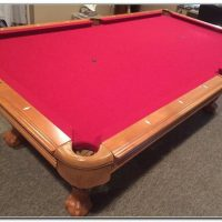 Pool Table Mint America Heritage With Accessories