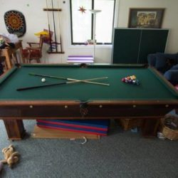 Antique Pool Table for Sale (SOLD)