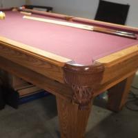 8' AMF Playmaster Pool Table